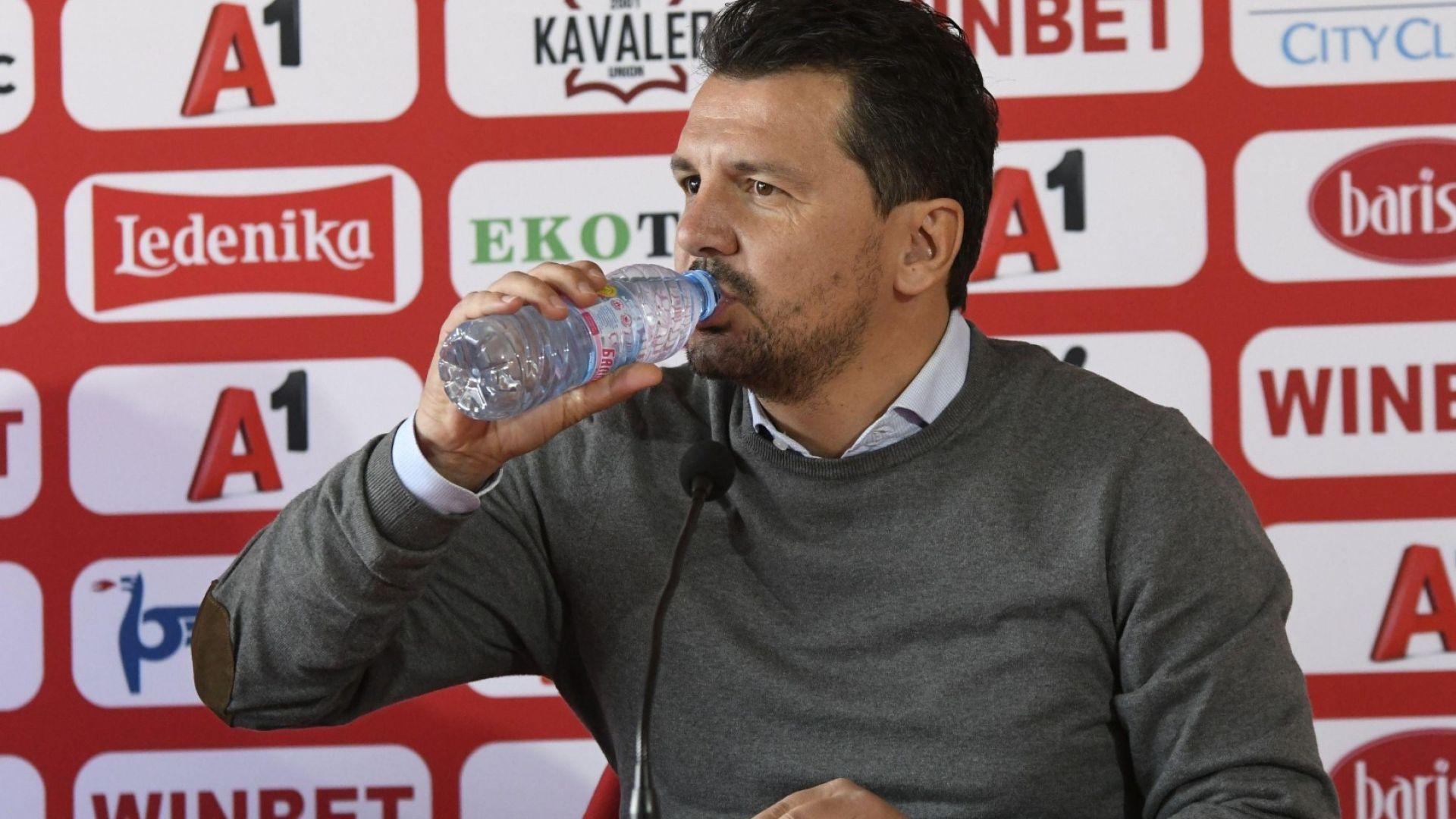Спокойният треньор на ЦСКА: И Ливърпул губи мачове, всеки го прави