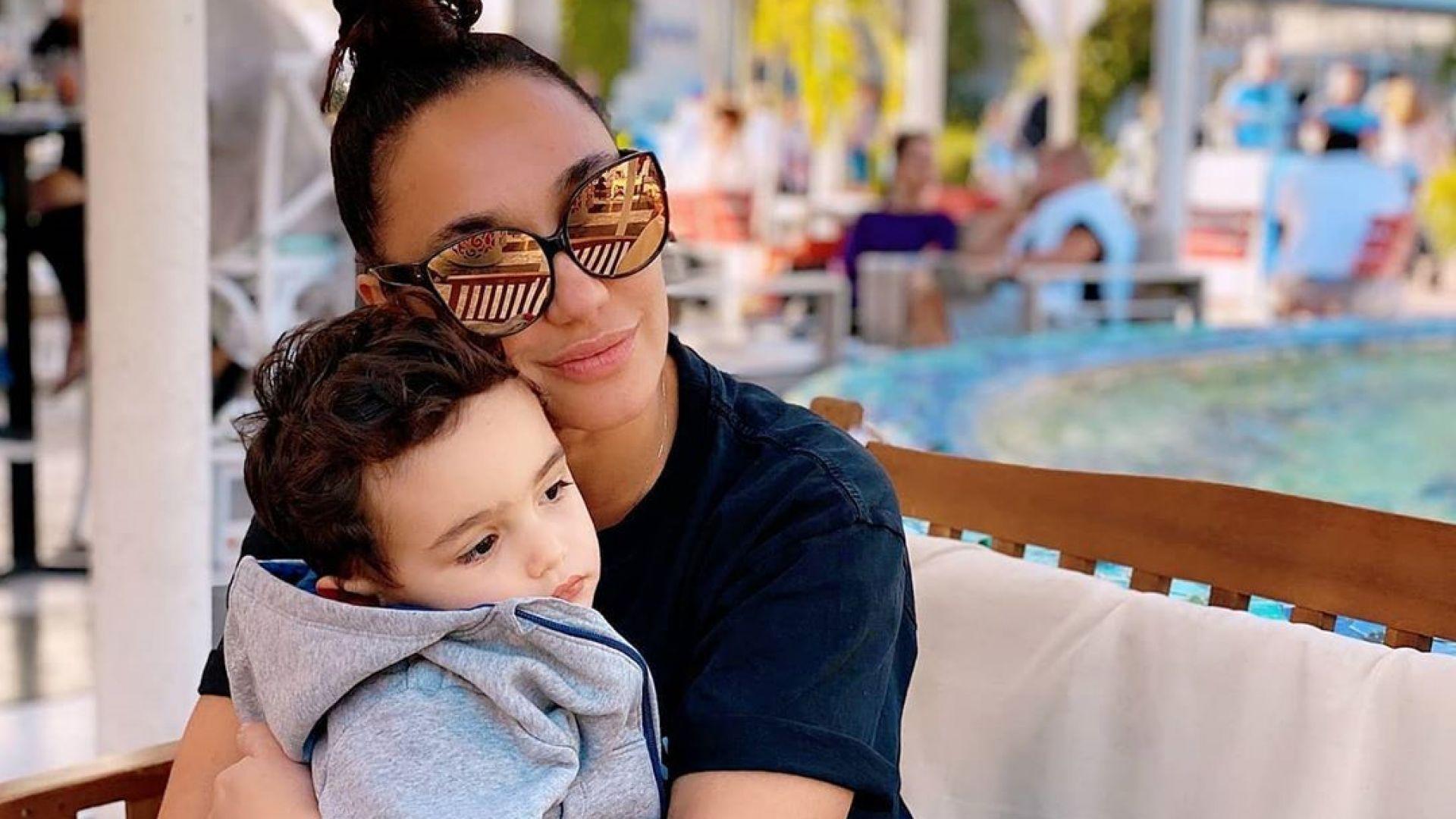 Хубавият живот на Мария Илиева и сина ѝ в Маями