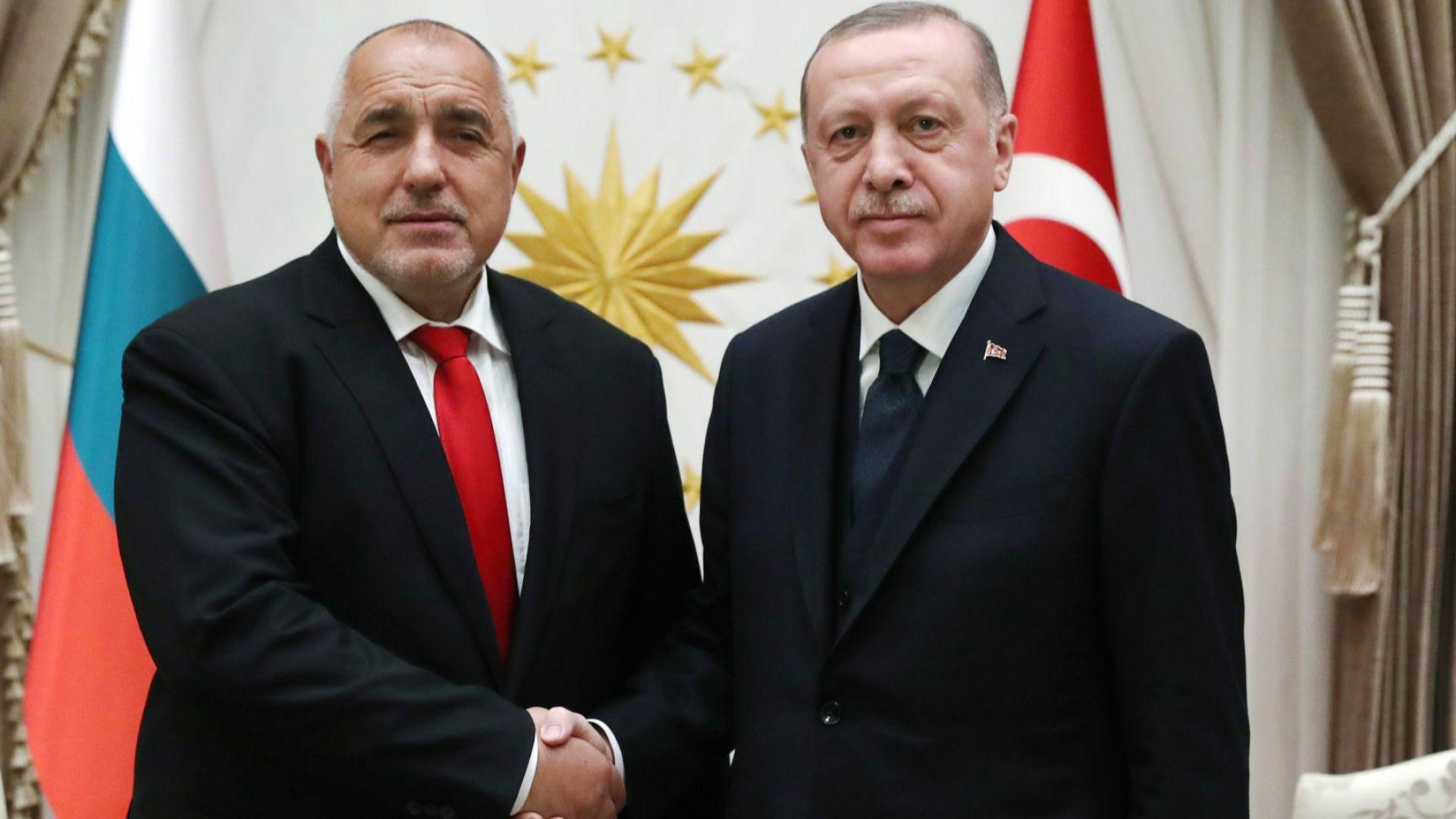 Eрдоган и Борисов са обсъдили по телефона активизиране на отношенията