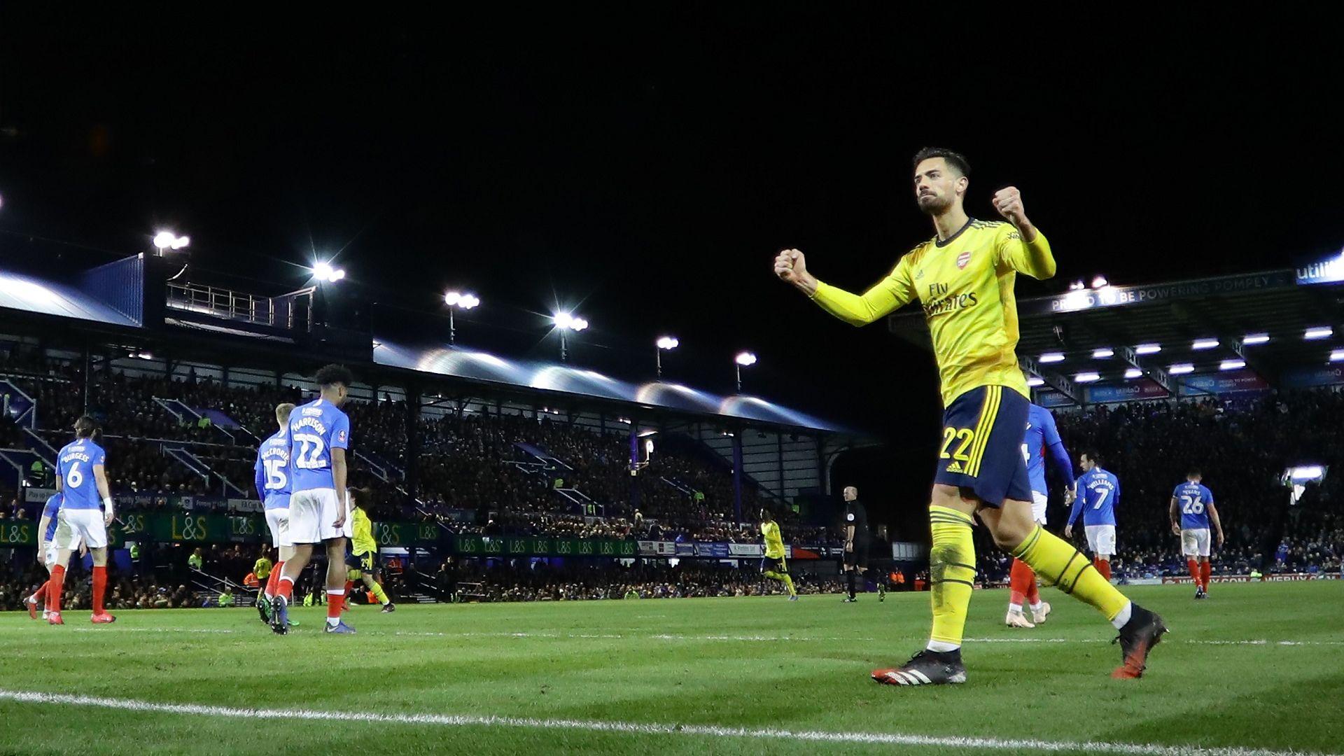 Арсенал свърши задачата си на южния бряг и продължава да мечтае за трофей