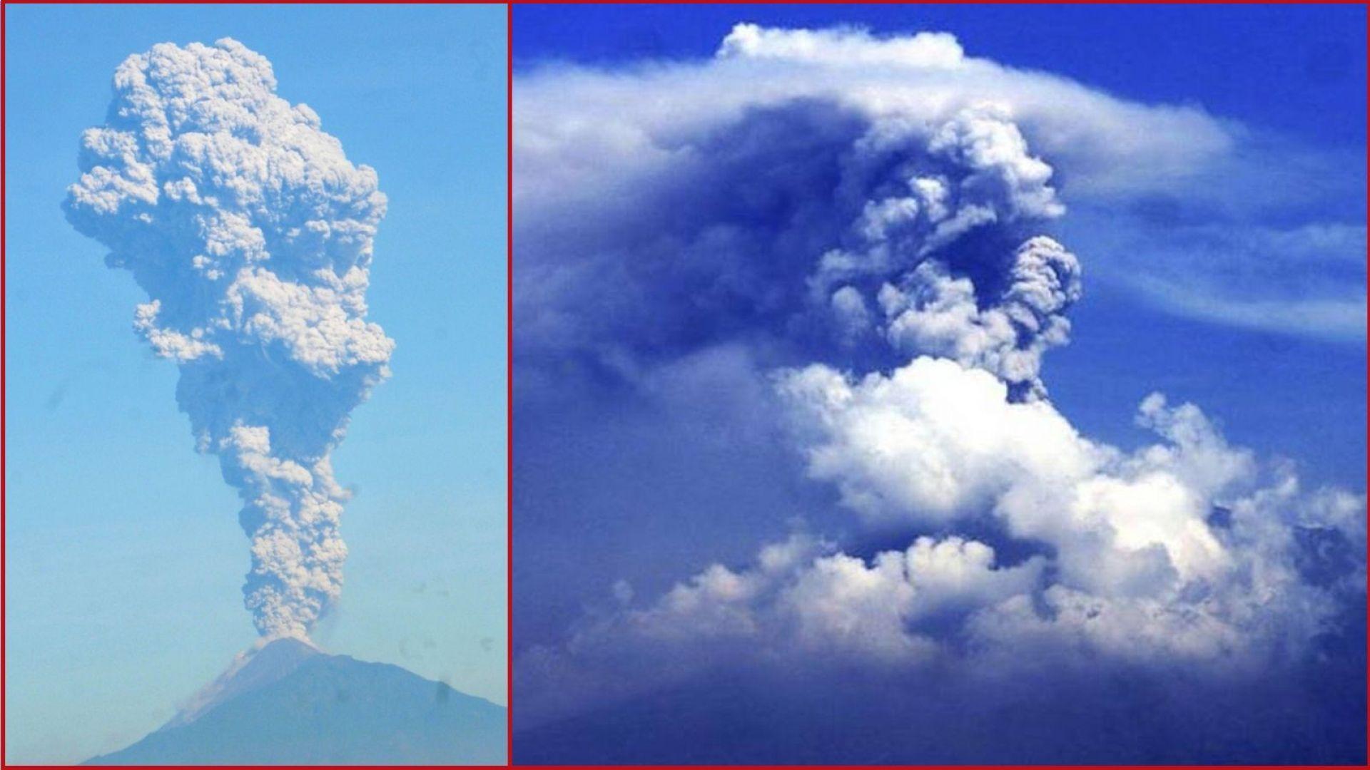 Вулканът Мерапи изригна с 6-километров залп