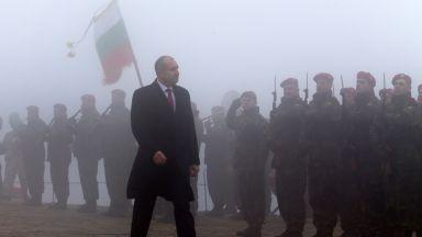 Радев пак ще е на Шипка на 3-и март: Уважението към паметта на загиналите е наш морален дълг