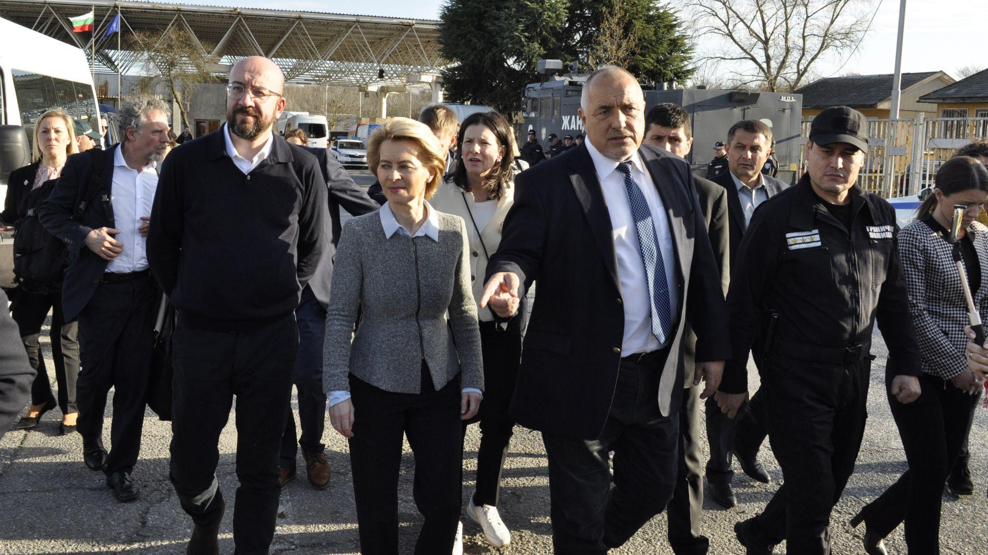 Борисов обсъди с Урсула фон дер Лайен как да осигурим маски и предпазни костюми за страни от ЕС