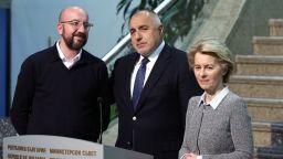 Какво казаха Урсула фон дер Лайен и Шарл Мишел след срещата си с Борисов (обновена)
