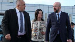 Бойко Борисов изпрати Шарл Мишел, председателят на ЕС отлетя за Турция