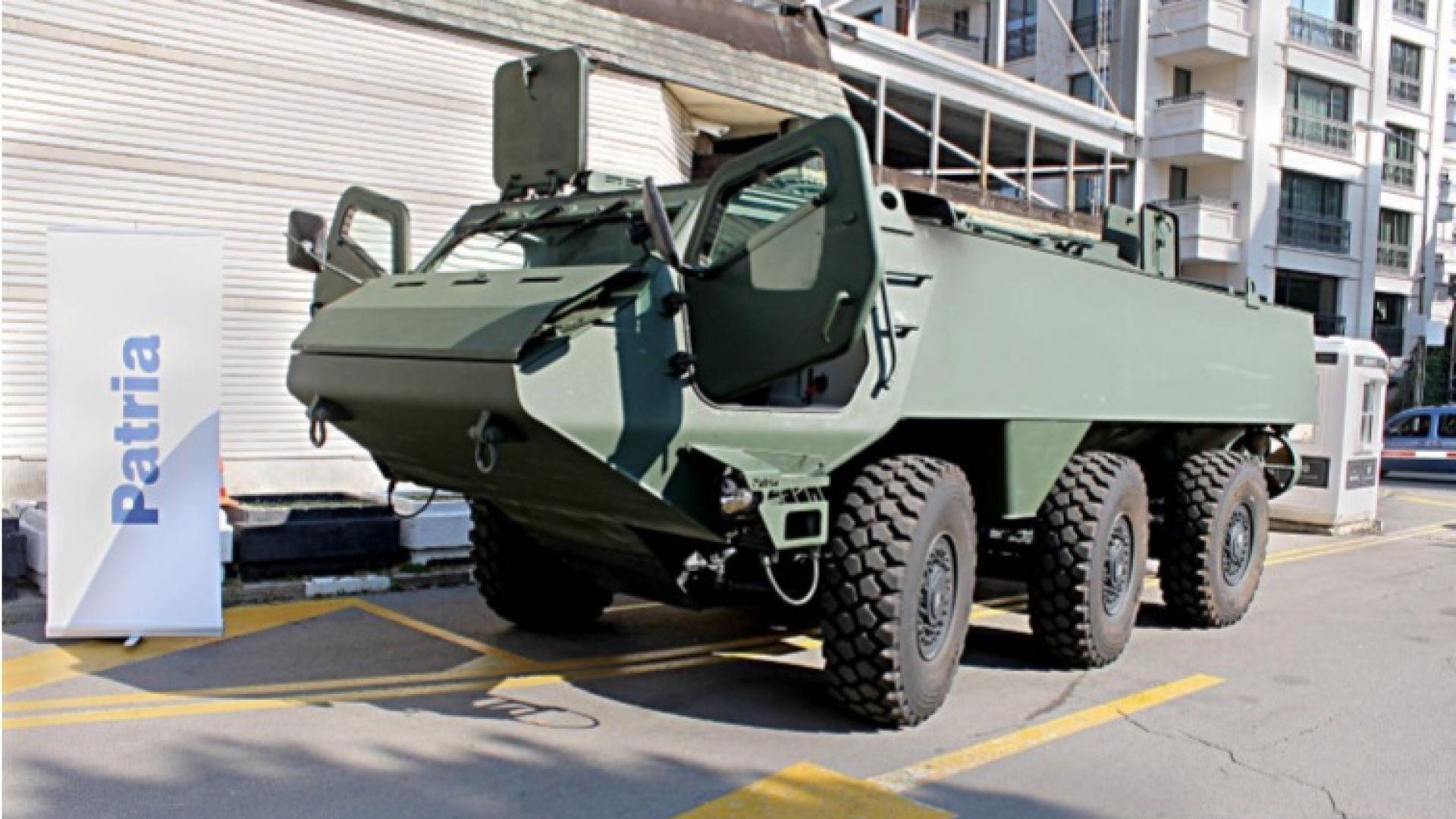 Финландия и Латвия в съвместна колаборация за разработване на най- новата бойна машина