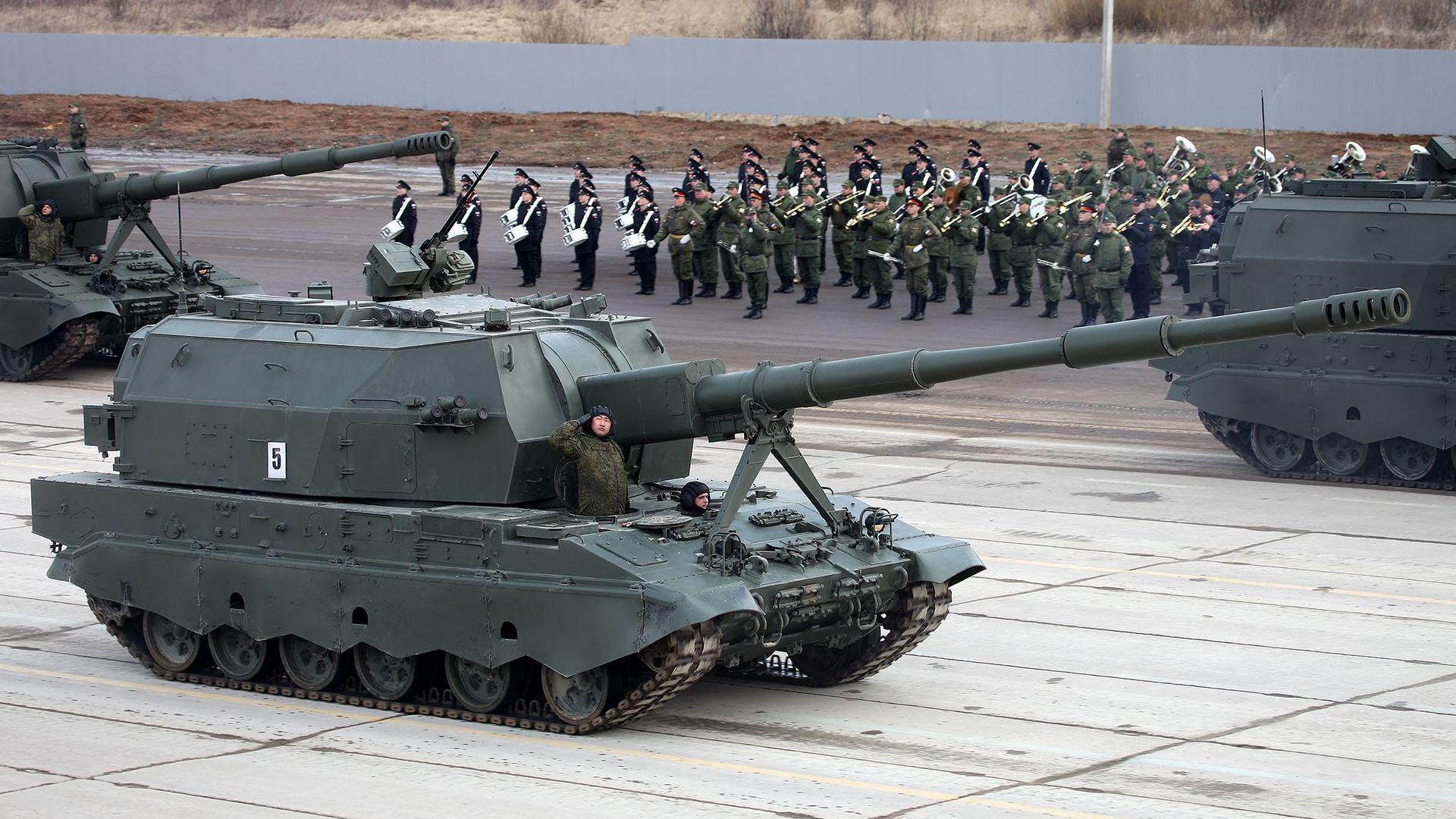 Разкриха част от оръжията, които ще се появят на парада за 9 май в Москва