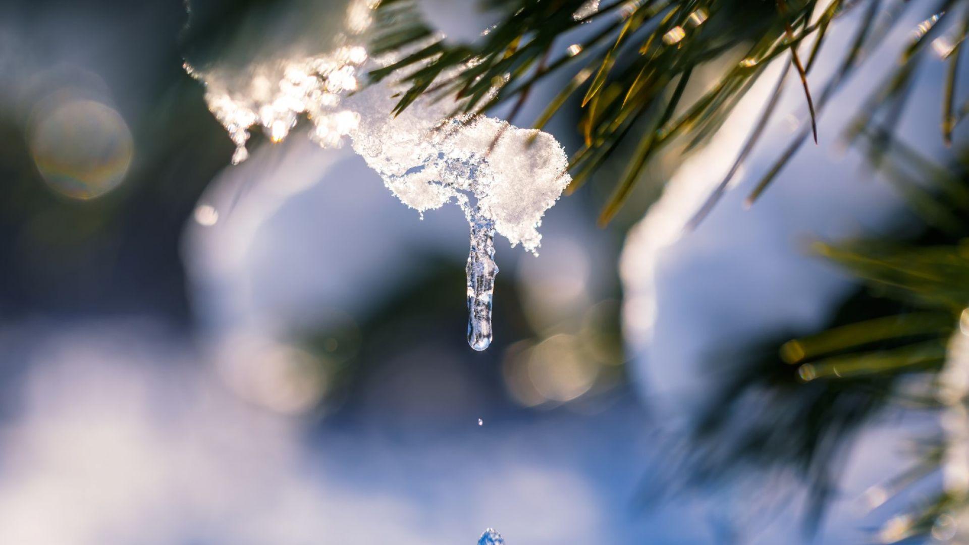 Започва постепенно затопляне, идват и валежи от дъжд