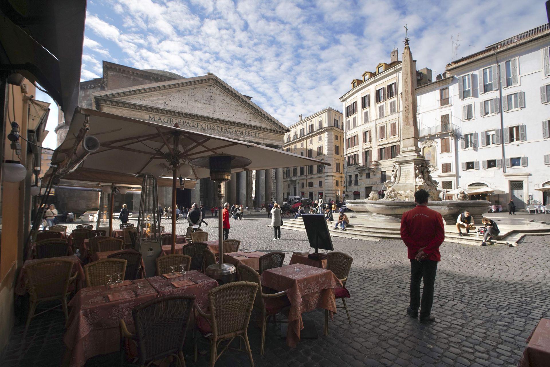 Ресторант до Пантеона в Рим