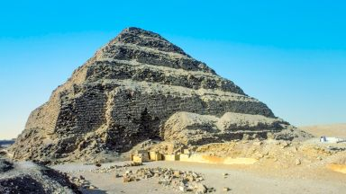 Най-старата пирамида в Египет отваря врати за посещения (видео)