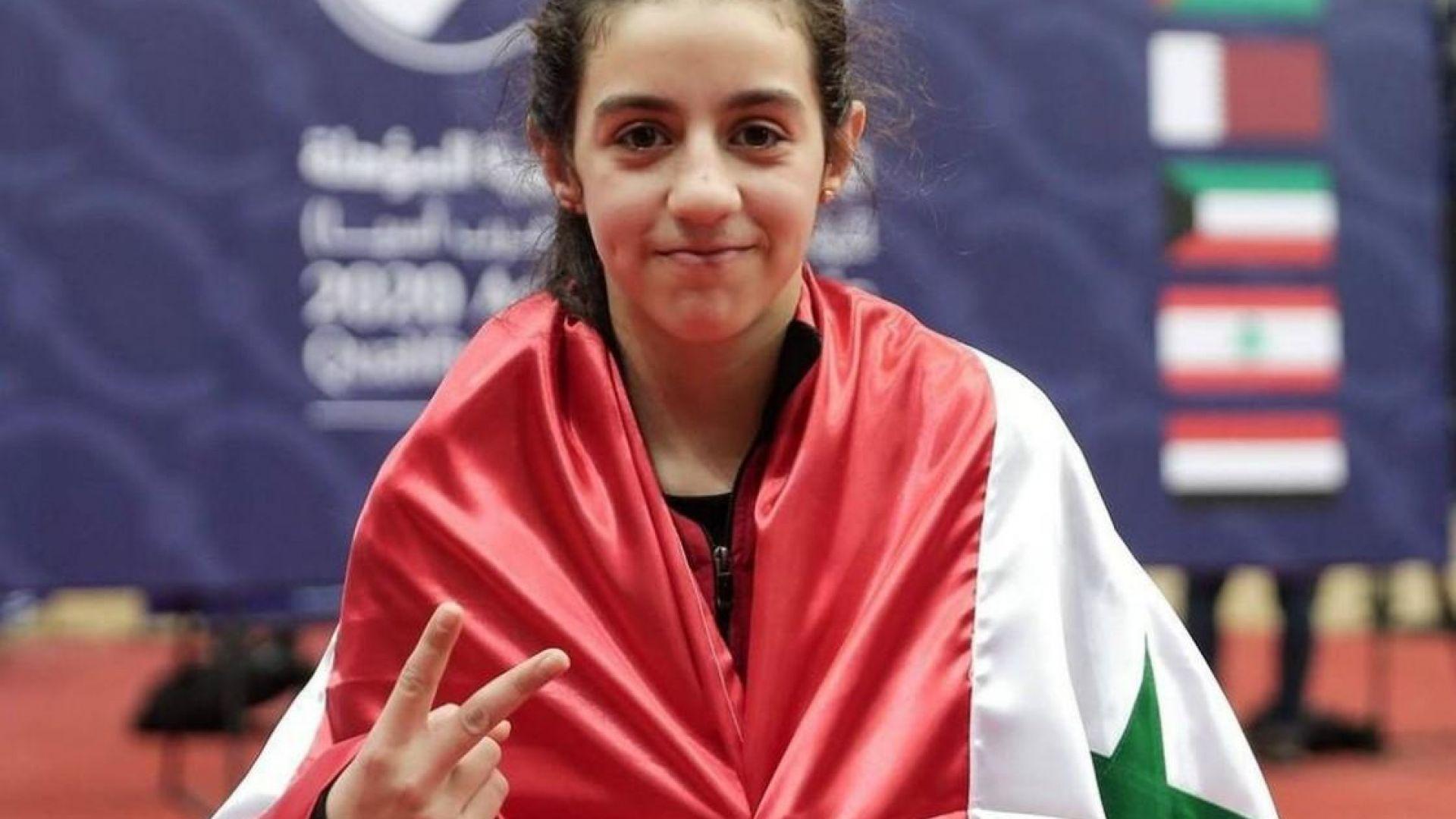 11-годишна сирийка взе квота за Токио 2020