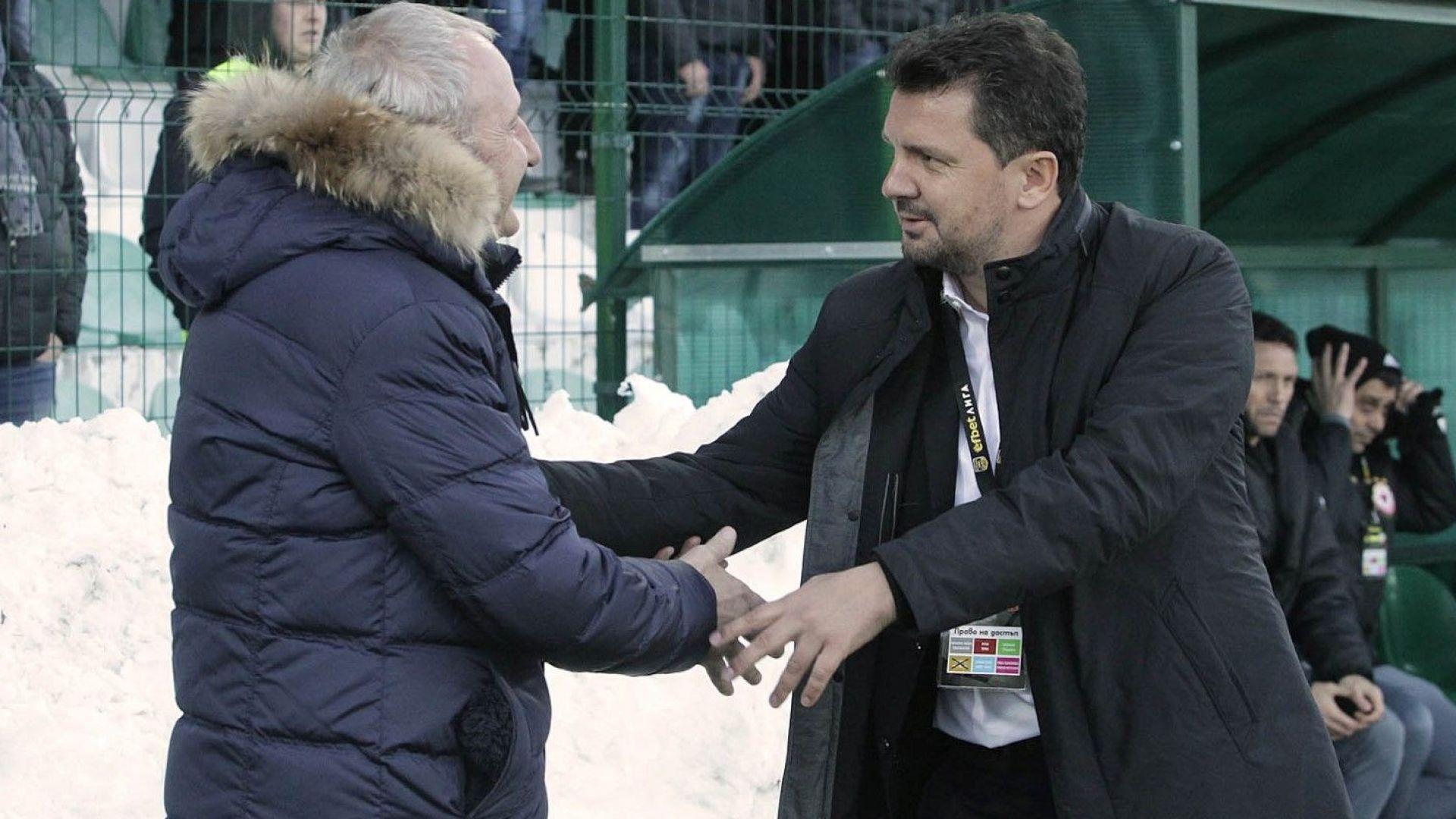 Крушчич: ЦСКА е там, където иска да бъде