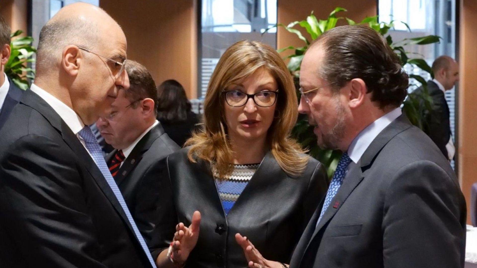 Първите дипломати на ЕС солидарни с България, Гърция и Кипър за кризата по външната граница