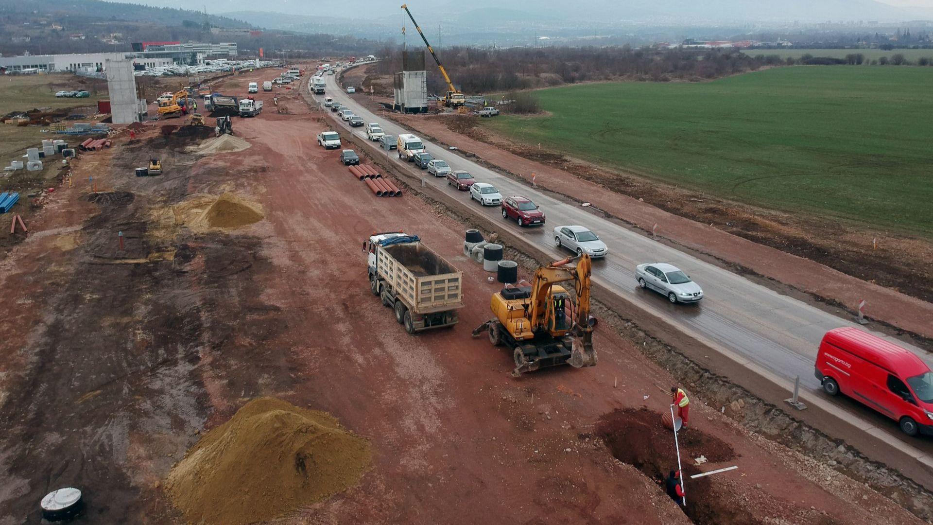 Нови правила за движение по Околовръстния път край Герман: Ето как върви разширяването
