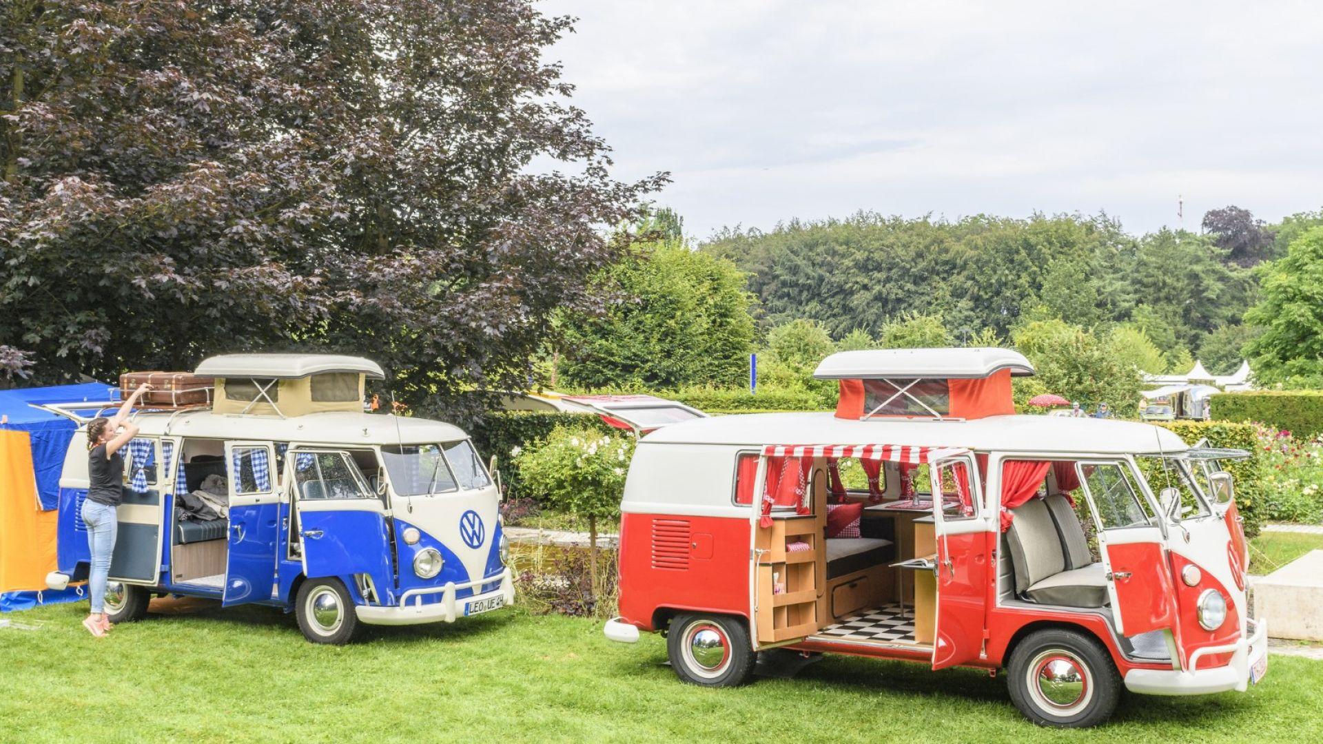 """Хипи ванът на VW лесно се трансформира в """"дом на колела"""""""