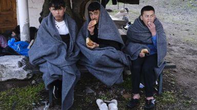 Задържаха 15 чужденци без документи край Елин Пелин