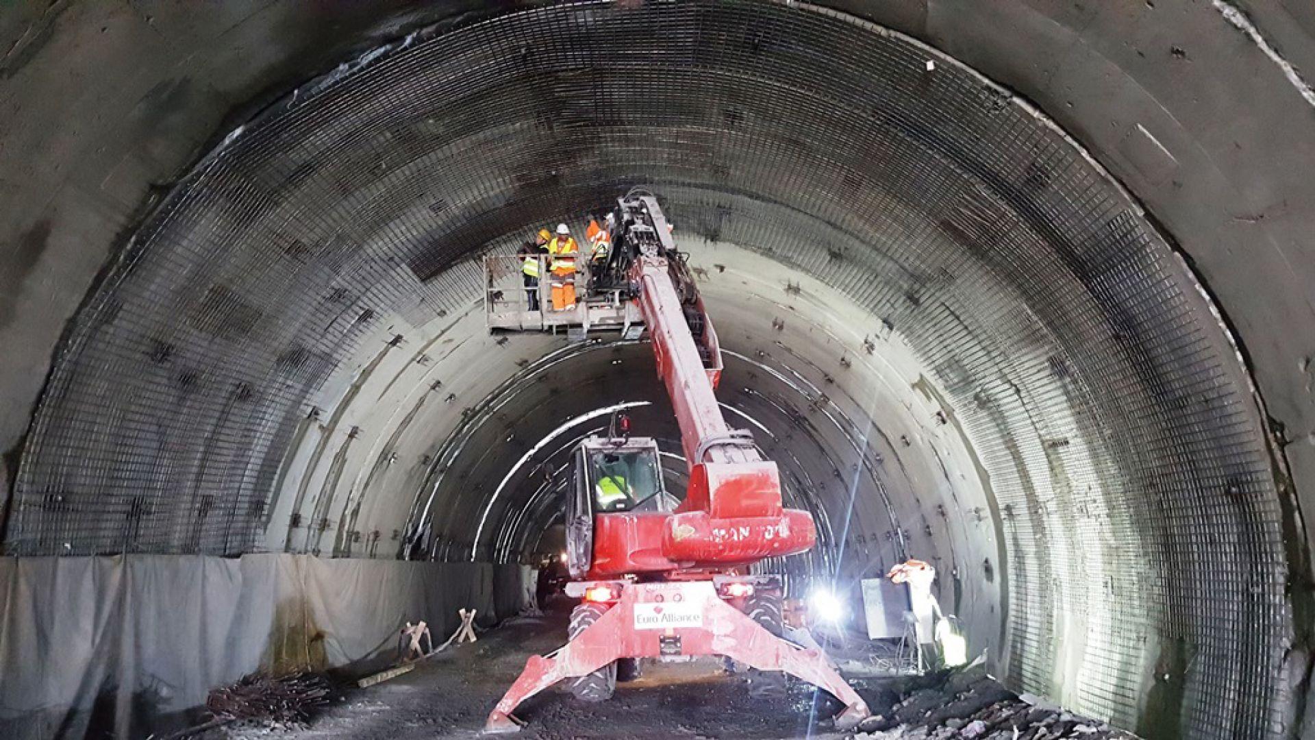 """На 17-18 март завършва ремонтът и отварят тунел """"Витиня"""""""