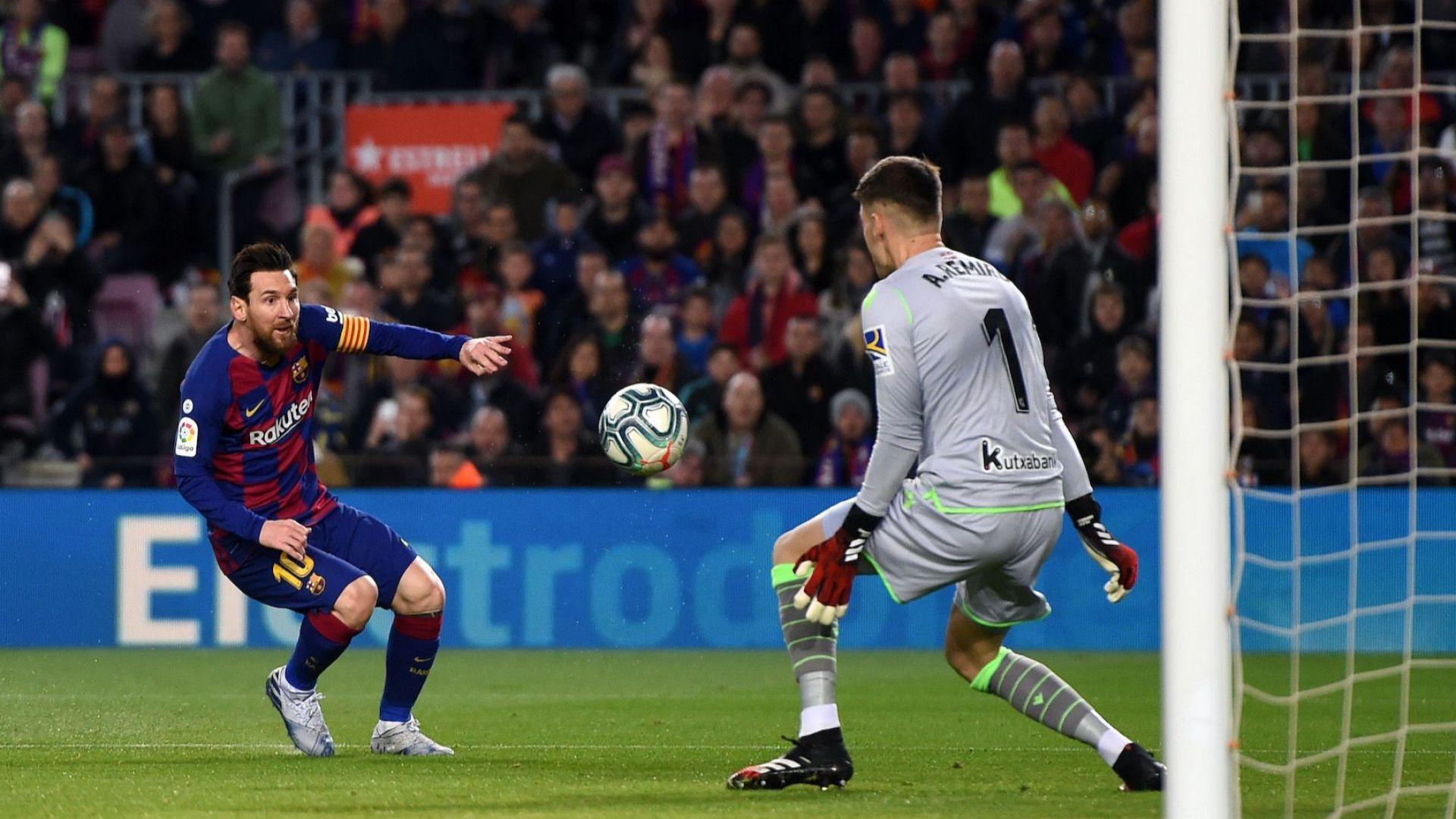 Жокер от ВАР помогна на Барселона срещу Сосиедад