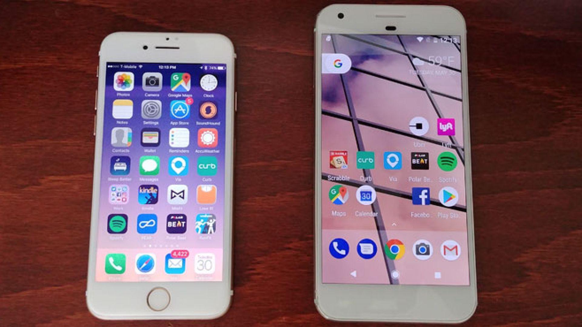 Apple съдят хората, инсталиращи Android на iPhone