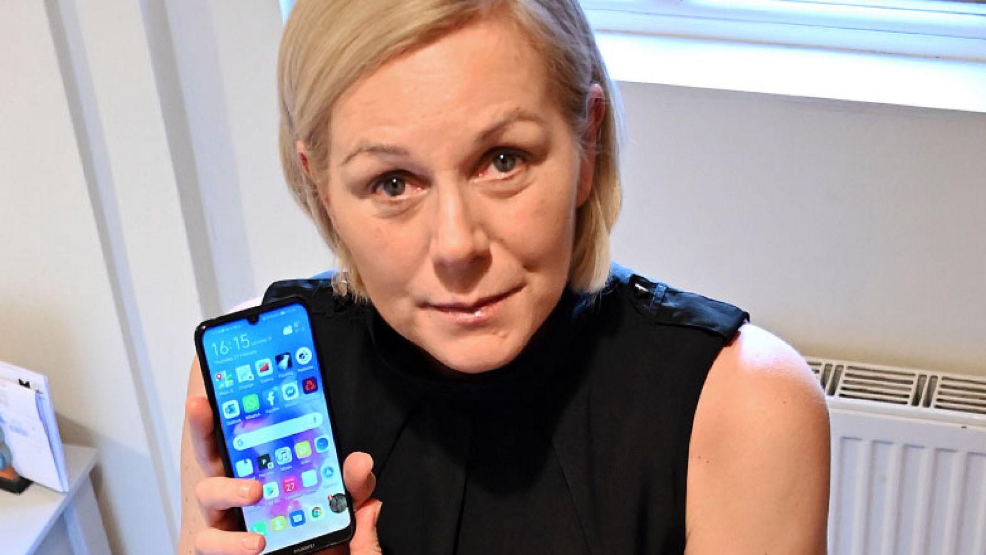 Англичанка смята, че телефон на Huawei е спасил живота й