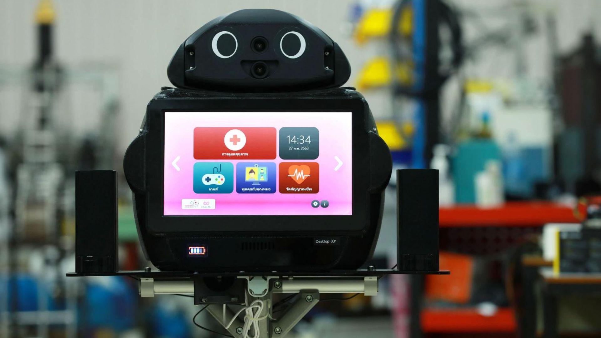 Роботи с 5G се грижат за пациенти с коронавирус
