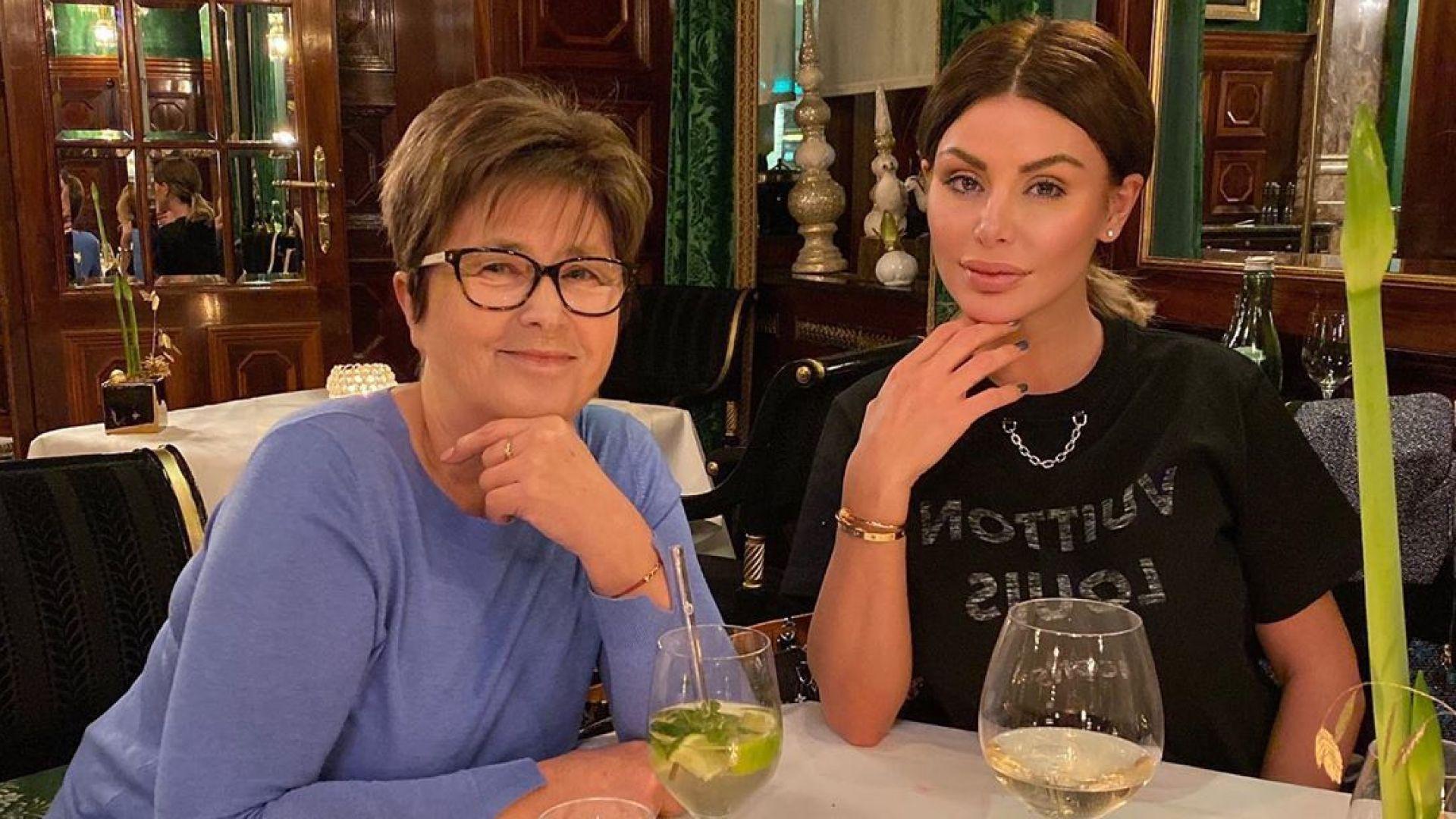 Светлана Гущерова с мило послание и жест към майка си
