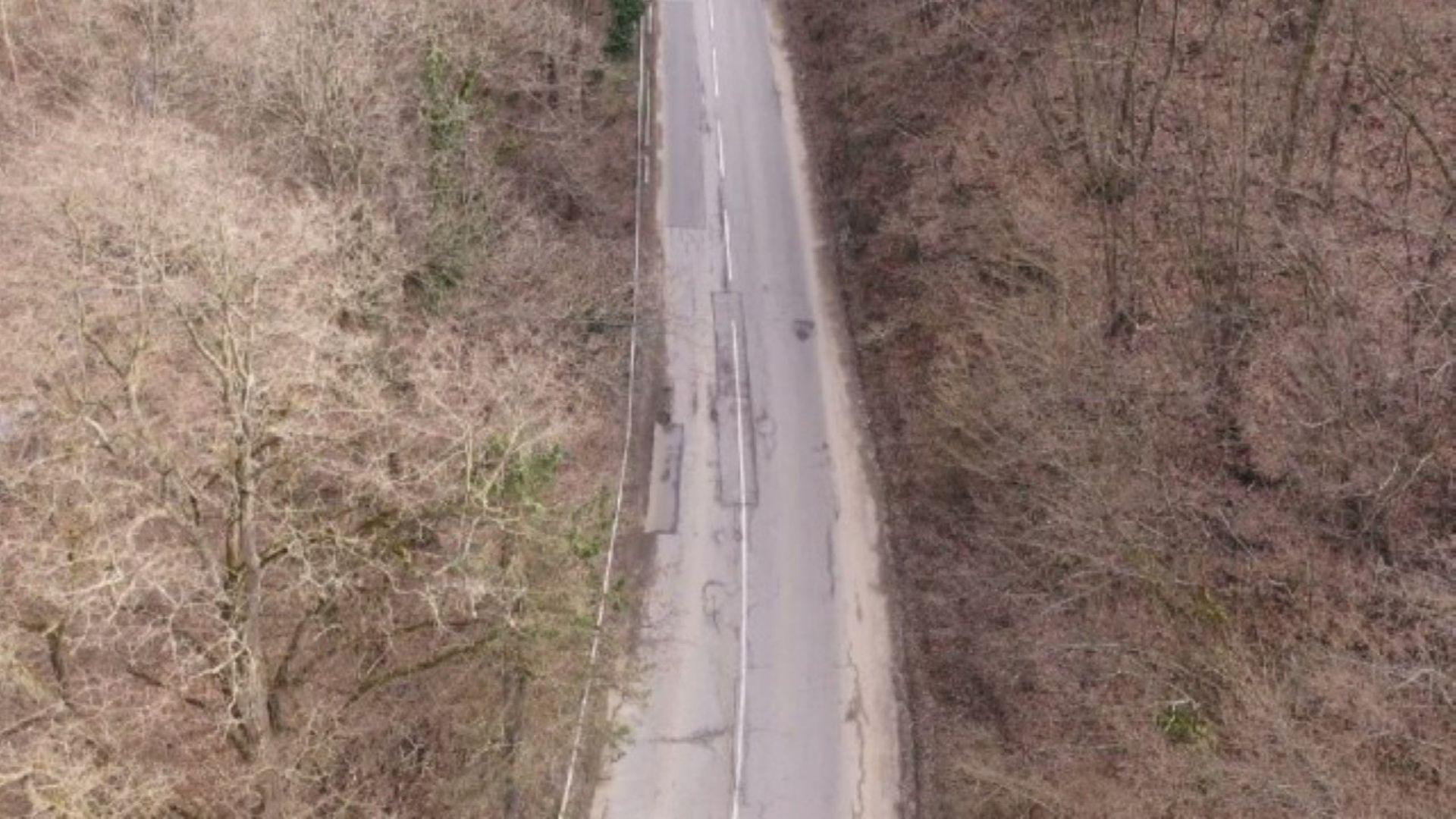 Пътят София - Самоков покрай яз. Искър е опасен