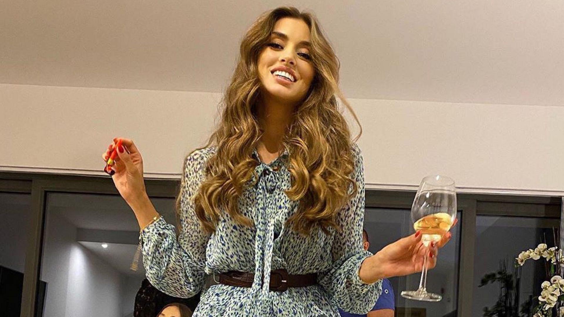 Нежна и красива: Саня Борисова навърши 37
