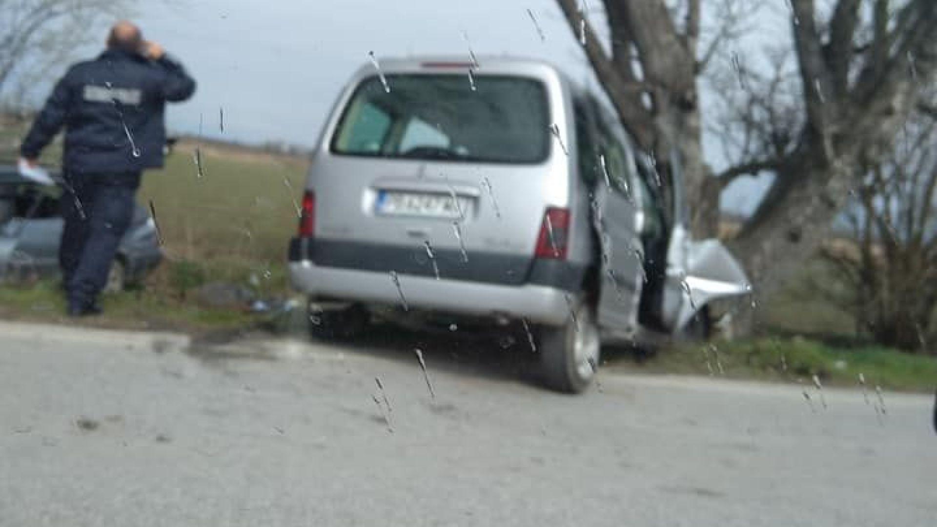 Двама загинали и 5-има ранени при две катастрофи край Пловдив и Враца