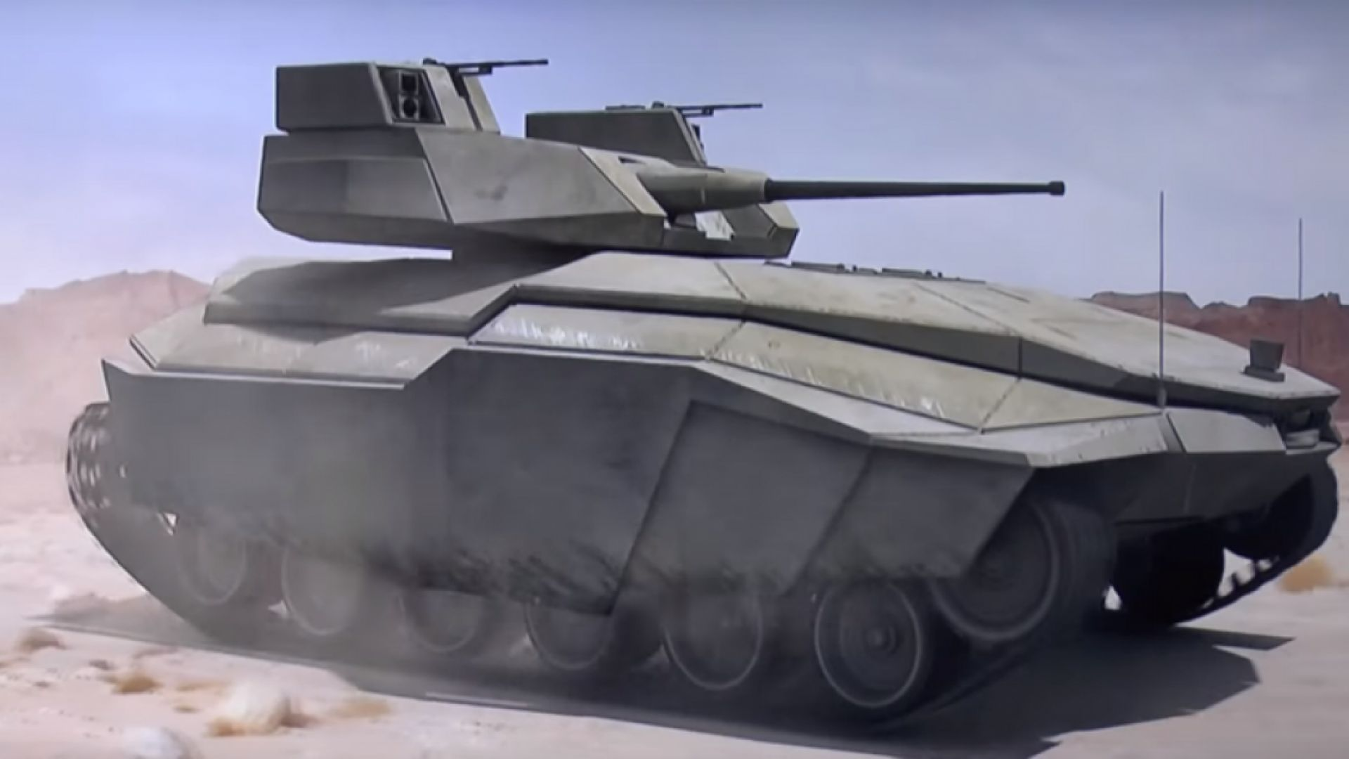 Израел готви стелт танк за улични битки