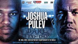 Официално: Отложиха битката Джошуа - Пулев