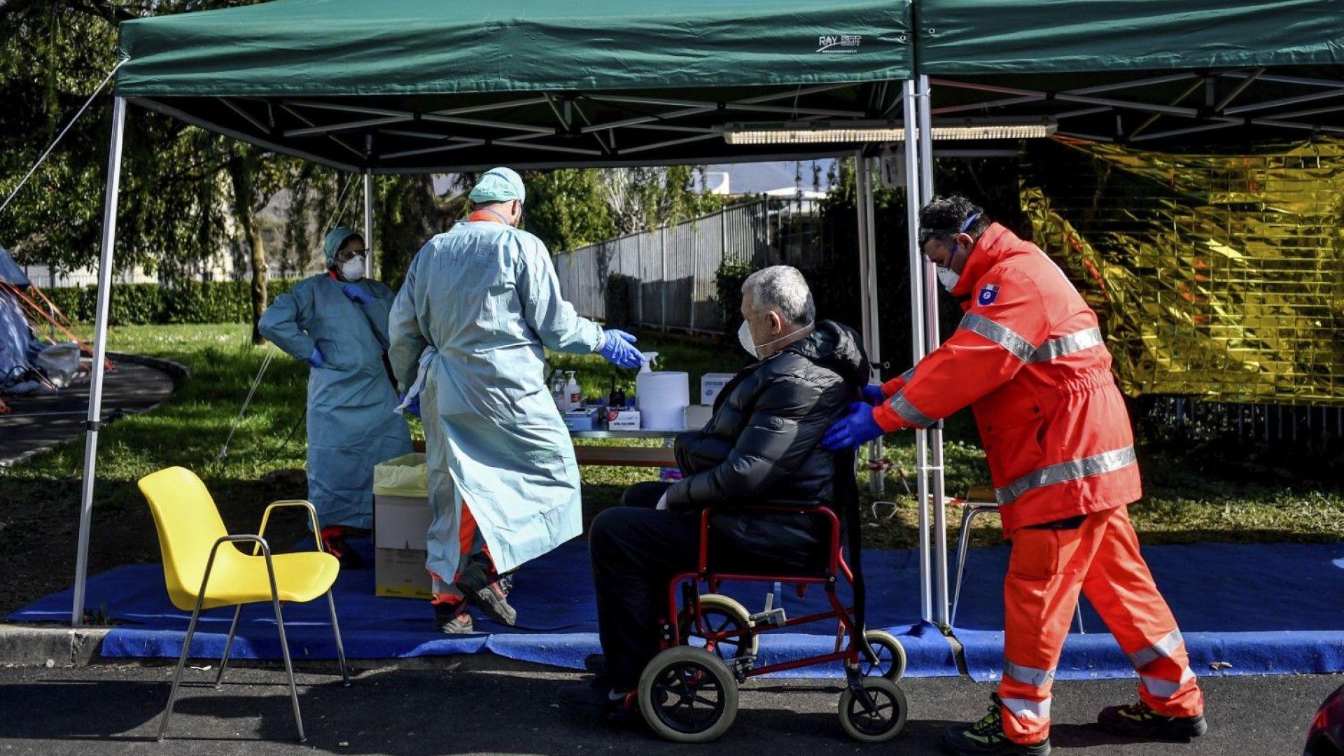 168 души починаха от новия вирус в Италия за последните 24 часа