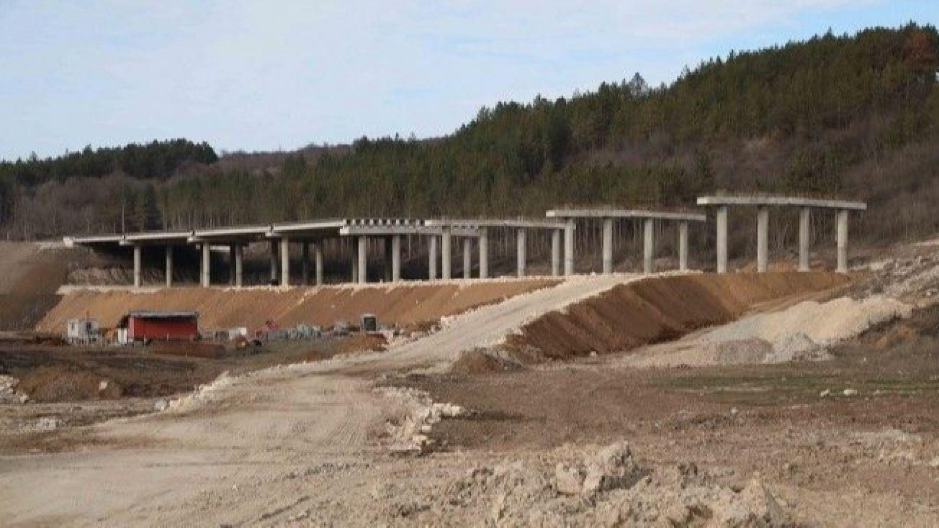 Строежът на магистралата Русе-Велико Търново тръгва през декември