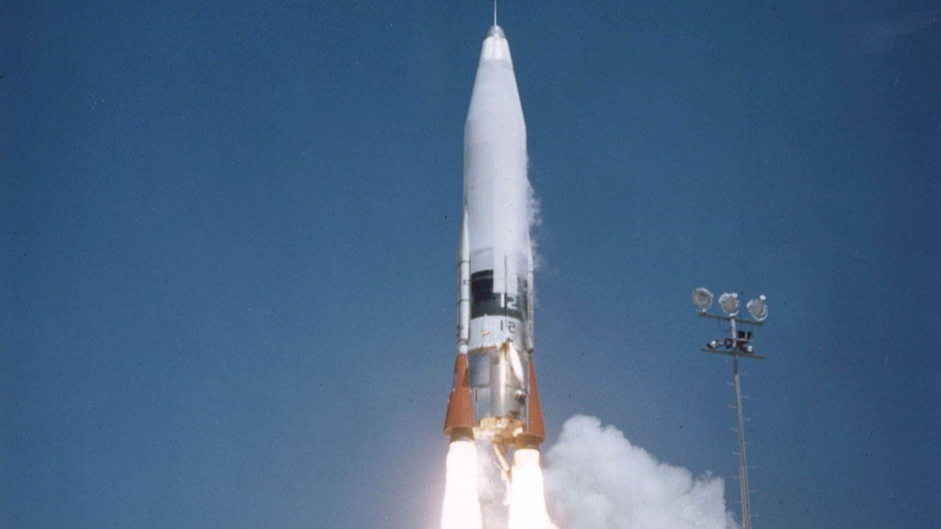 Ракетата Atlas LV-3B на САЩ