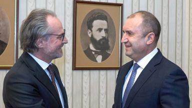 Президентът Радев се срещна с председателя на ВКС Лозан Панов