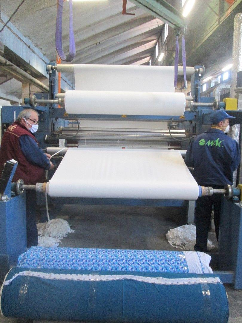 Текстилното предприятие Мак в Габрово произвежда платове за защитни облекла