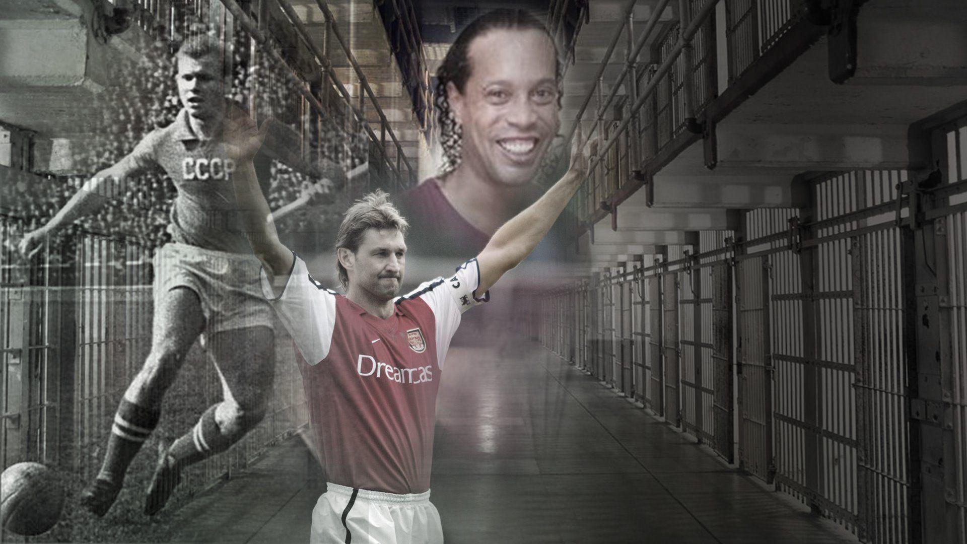 Не е само Роналдиньо, футболът има своя славен отбор от затворници