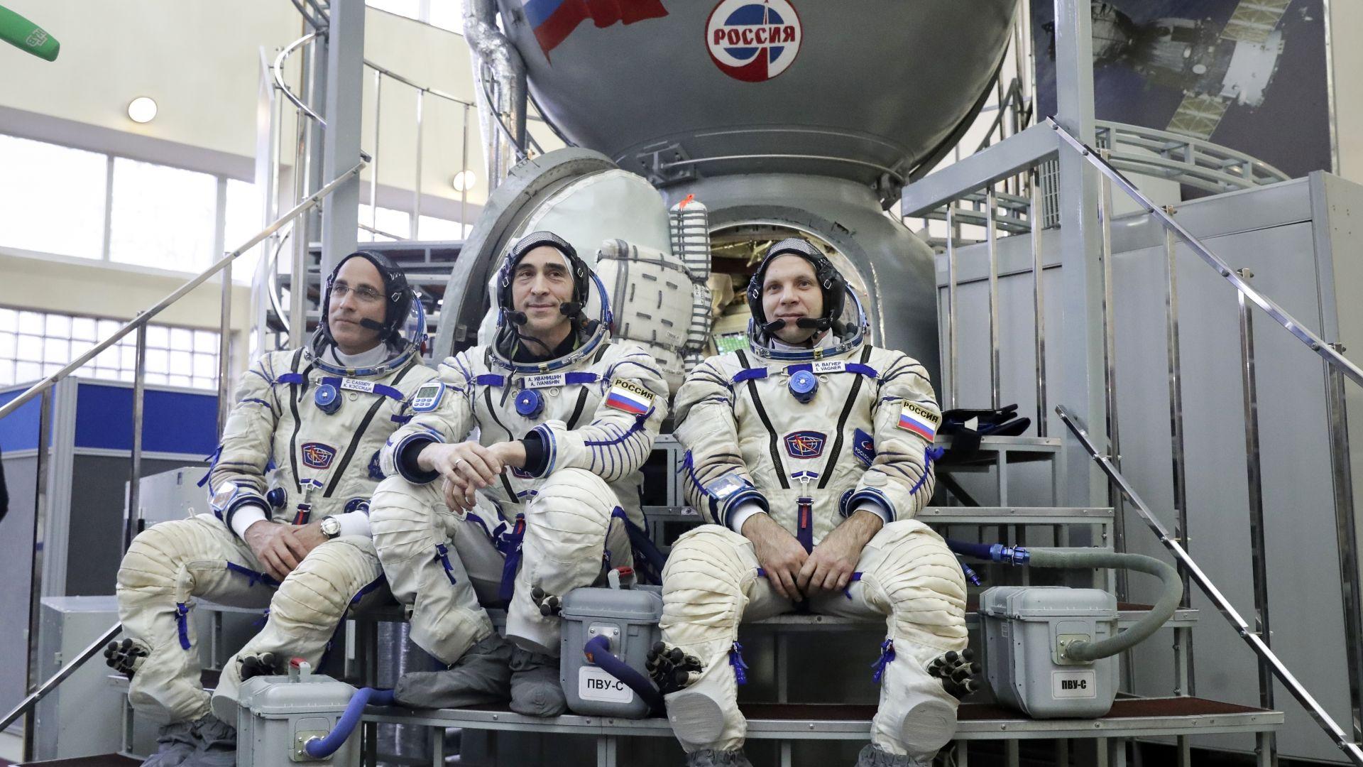 Космонавтите се подлагат на карантина преди мисия към МКС