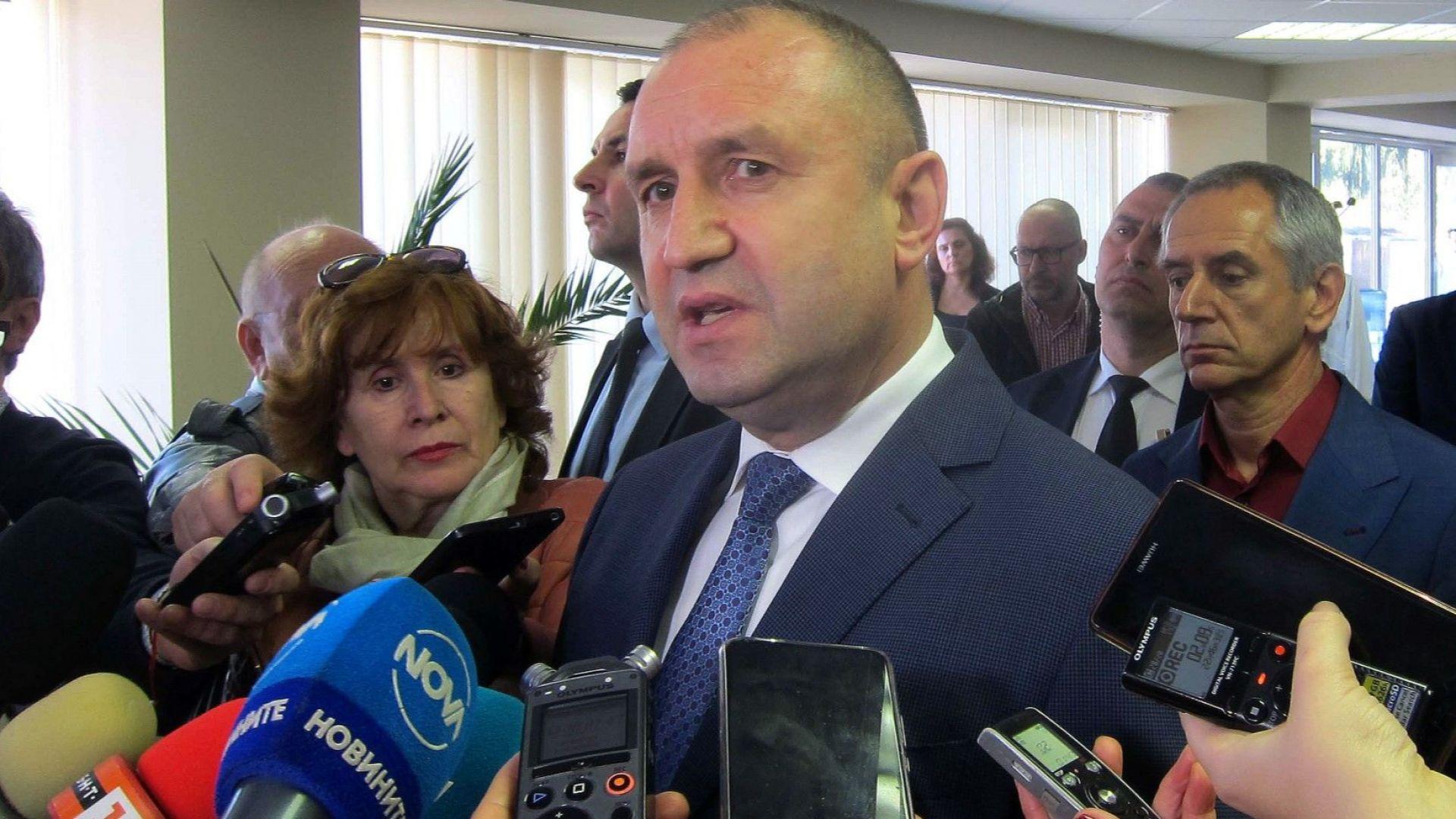 Румен Радев: Печеленето на избори не трябва да става с компромати