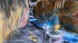 Отлагат изложбата на художничката, която хвърли ръкавица на коронавируса