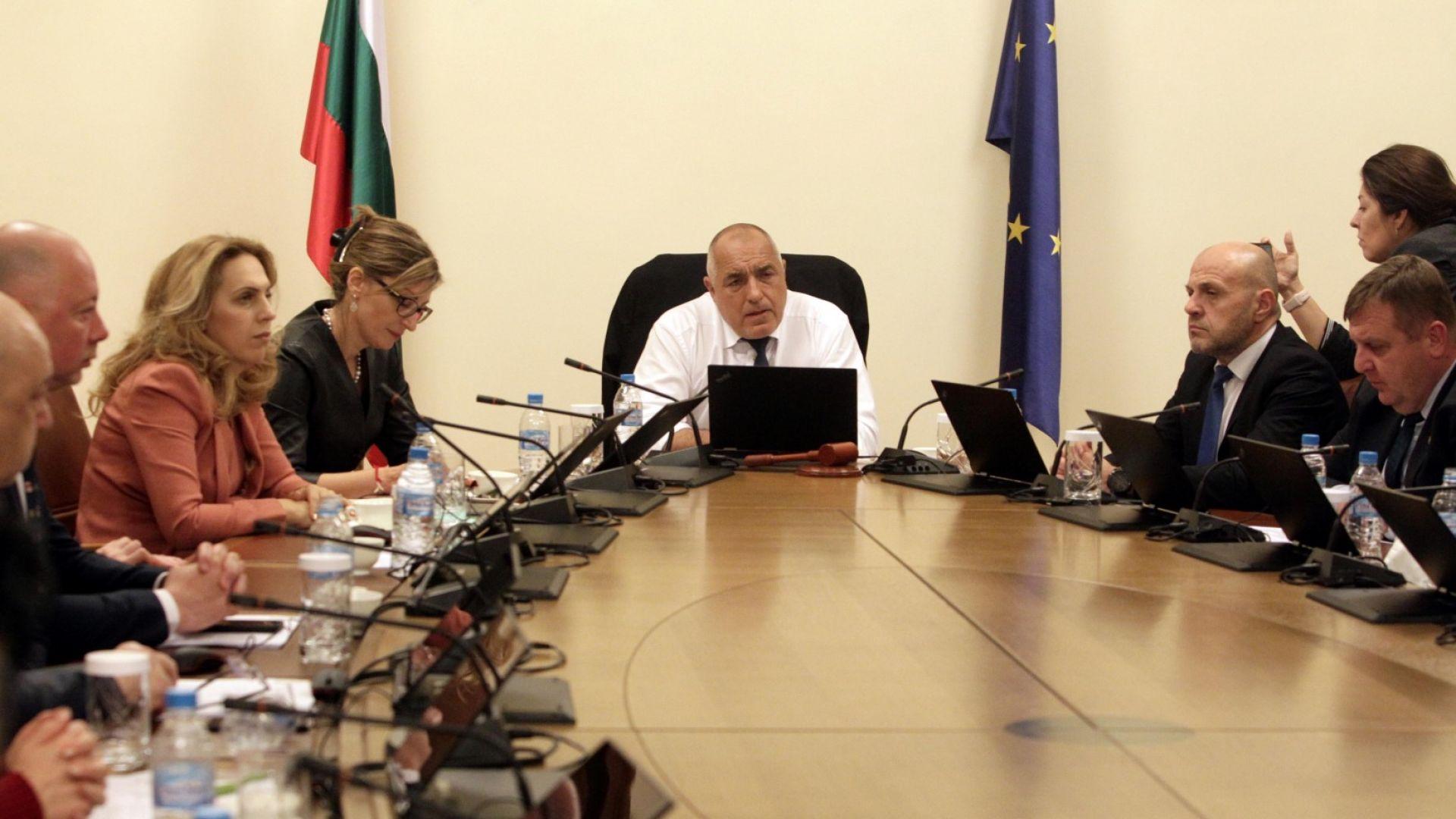 Борисов свиква днес извънредно правителствено заседание