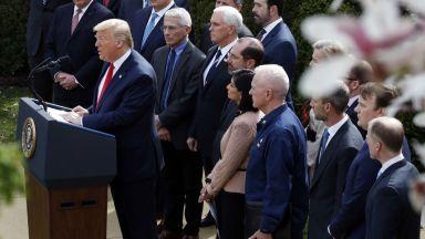 Конгресът блокира контрола на Доналд Тръмп върху пакета от $2,2 трлн. срещу пандемията