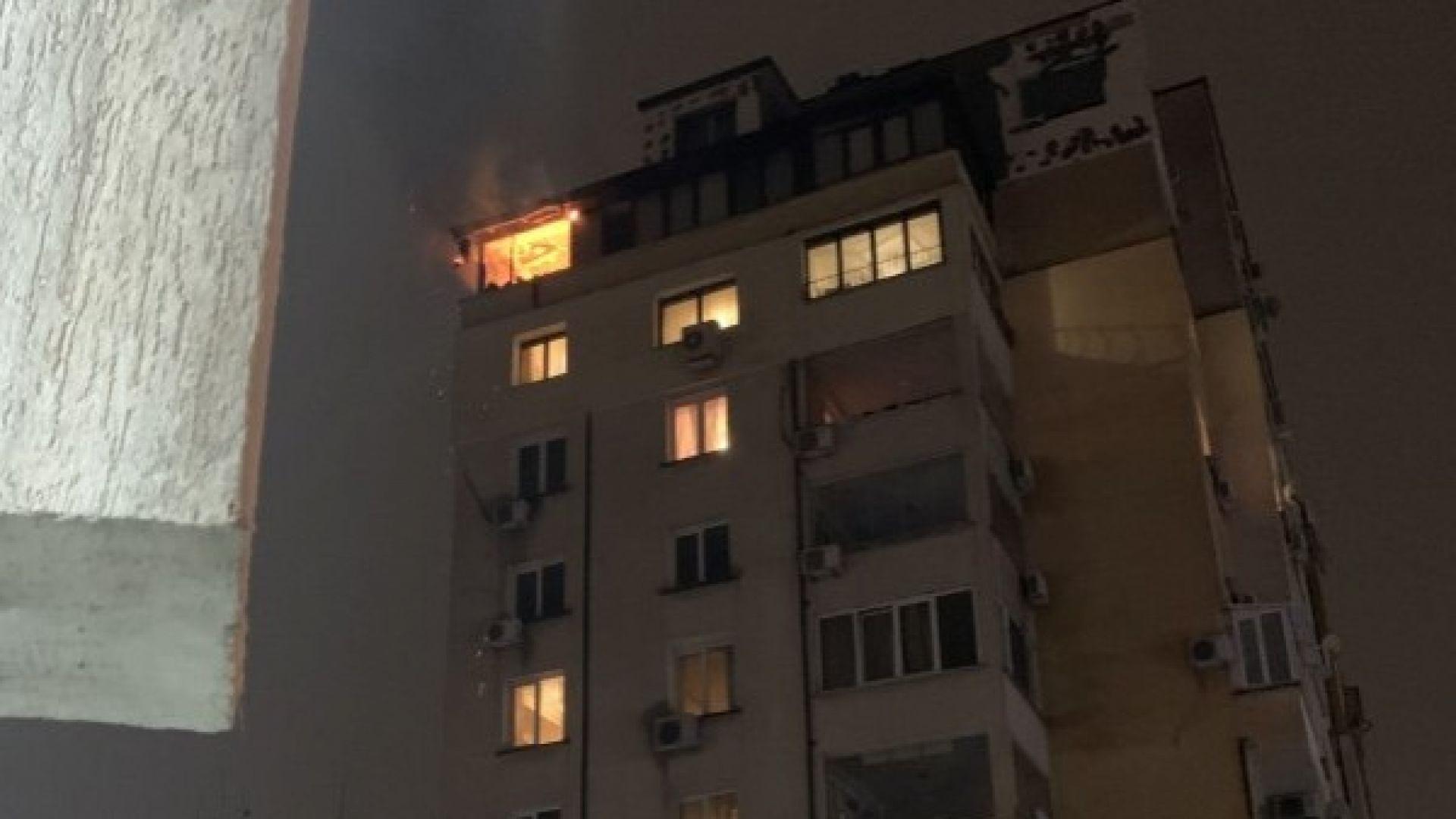 Човек загина при пожар в столичен квартал