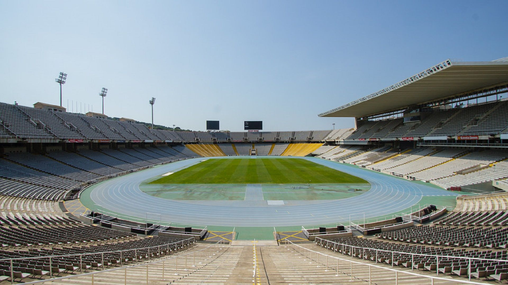 Олимписйки стадион в Барселона