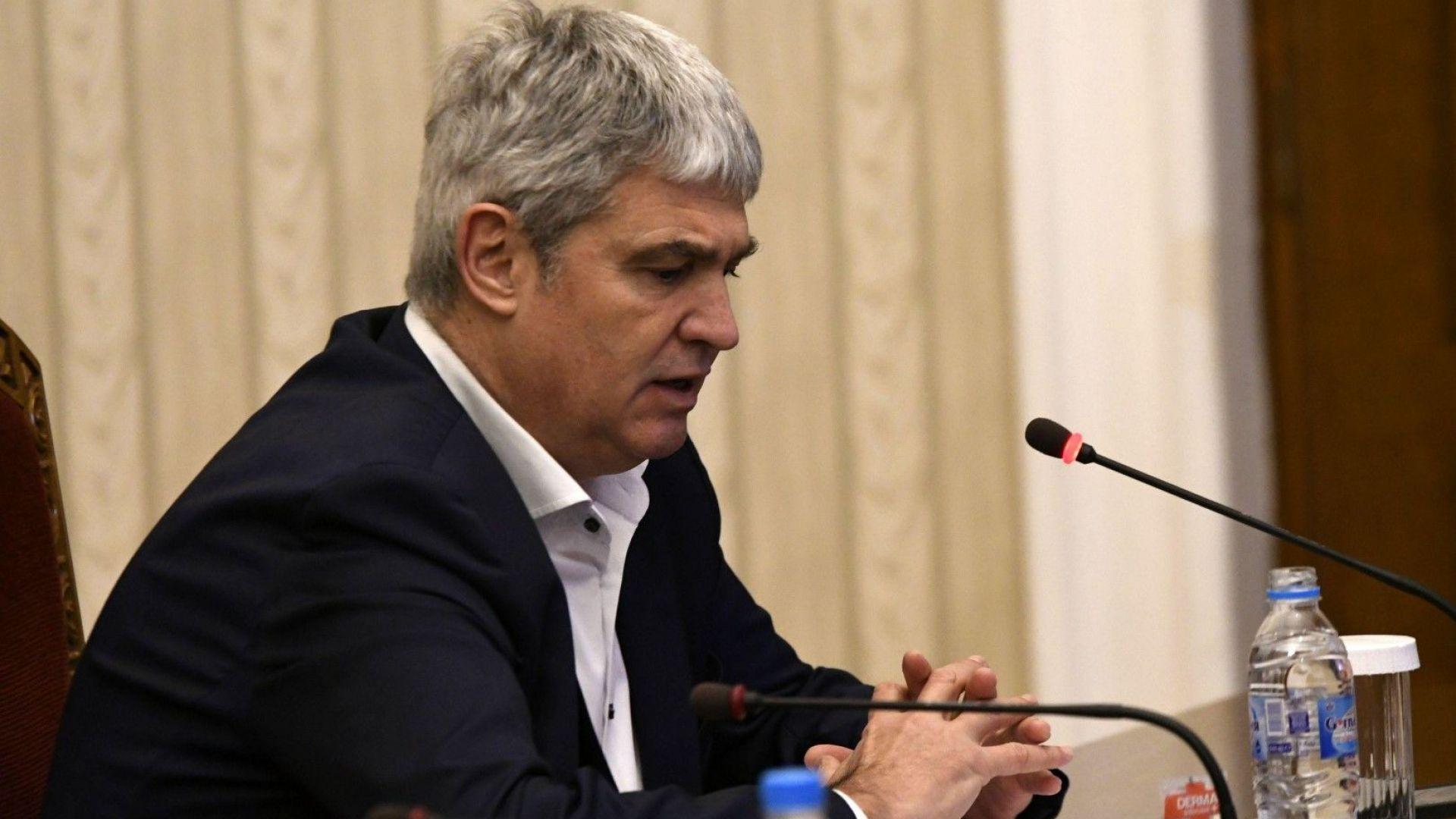 Председателят на КНСБ Пламен Димитров