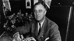 Рузвелт бил покосен от фаталния инфаркт, докато позирал за портрет