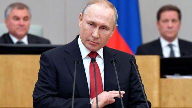 Путин предложи пред Г-20 мораториум върху санкциите срещу държави, пострадали от пандемията
