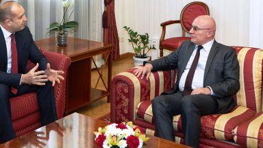 Управителят на БНБ пред президента: Разплащанията и банките са стабилни
