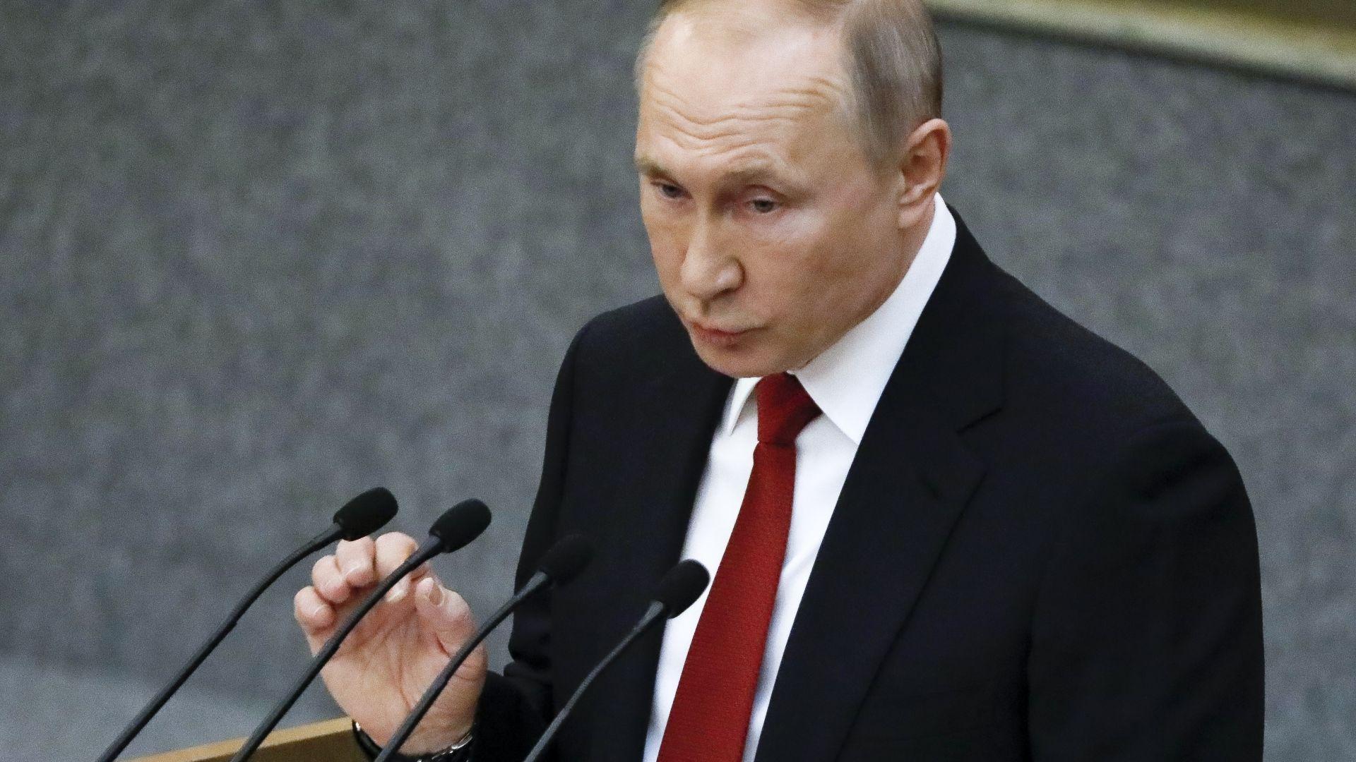 Путин увери, че властите в  Русия държат ситуацията с коронавируса под контрол