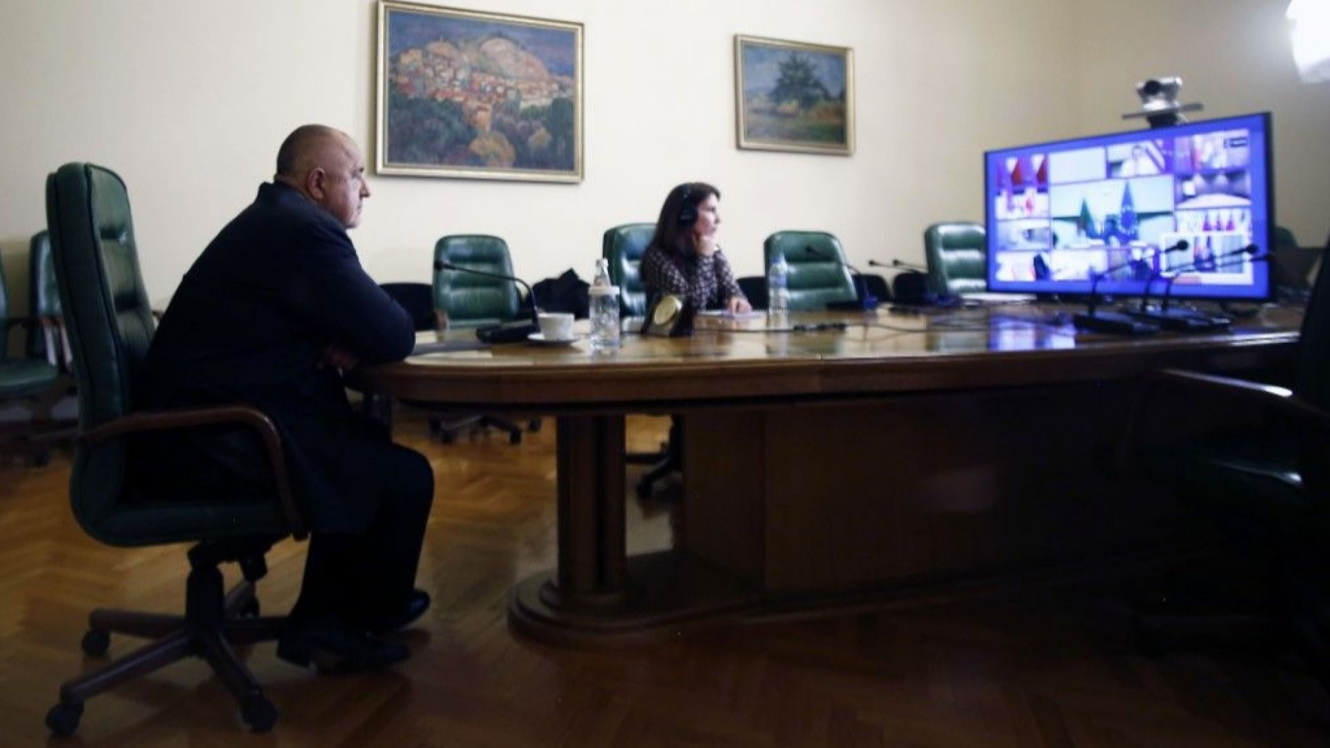 Борисов след видеоразговор с лидери от ЕС: Връщат се българите, блокирани на граници (видео)